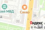 Схема проезда до компании Радуга звуков в Белгороде