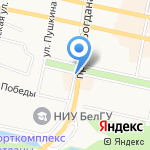 МАСТЕР КЛЮЧ на карте Белгорода