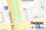 Схема проезда до компании Чайка-2 в Белгороде