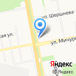 Чайка-2 на карте Белгорода