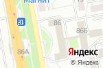 Схема проезда до компании Мамина Азбука в Белгороде