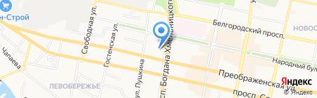 Мобибел на карте Белгорода