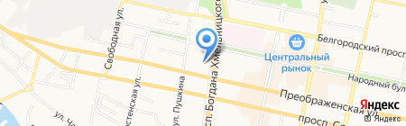 Бухгалтер-консультант на карте Белгорода