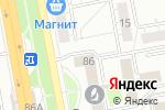 Схема проезда до компании Премьер-Мебель в Белгороде