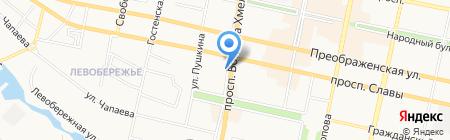 Премьер-информ на карте Белгорода