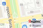 Схема проезда до компании Жизнь цвета, ЗАО в Белгороде