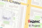 Схема проезда до компании Федерация футбола г. Белгорода в Белгороде