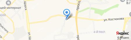 Карман на карте Белгорода