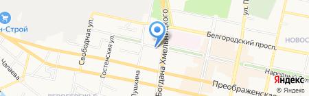 Знаки Красоты на карте Белгорода
