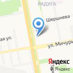 Экогаз на карте Белгорода
