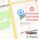 Управляющая компания-14 на карте Белгорода