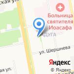 Детский сад №25 на карте Белгорода
