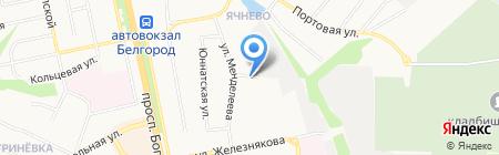 Автозона на карте Белгорода