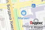 Схема проезда до компании Приоритет-Гарант в Белгороде