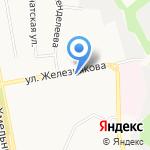 Люсия на карте Белгорода