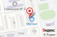 Схема проезда до компании Контакт-аудит в Белгороде