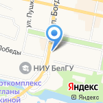 Федерация бокса на карте Белгорода