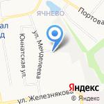 Автоzона на карте Белгорода