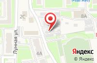Схема проезда до компании СТО в Дубовом