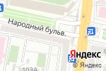Схема проезда до компании Геркулес в Белгороде