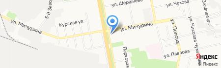 Авеню на карте Белгорода