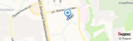 СДЮСШОР №5 на карте Белгорода
