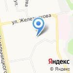 Средняя общеобразовательная школа №29 им. Д.Б. Мурачева на карте Белгорода