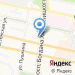 Магазин кофе и чая на карте Белгорода