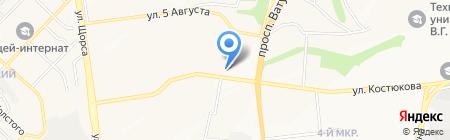 ЦВЕТЫ-24 на карте Белгорода