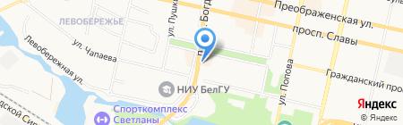 Вэлтон Банк на карте Белгорода