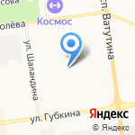Мозайка на карте Белгорода