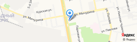 БИК на карте Белгорода