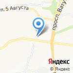 Цветочный салон на карте Белгорода