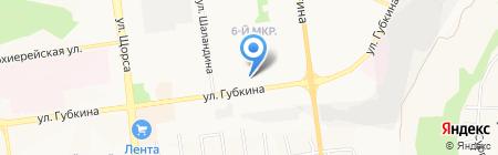 Красивые лестницы на карте Белгорода