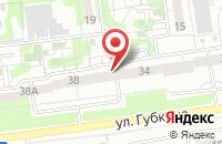 Схема проезда до компании Красивые лестницы в Белгороде