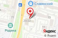 Схема проезда до компании Сандор в Белгороде
