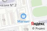 Схема проезда до компании Русский дизайн в Белгороде
