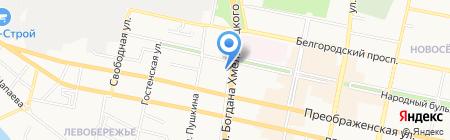 НИКА на карте Белгорода