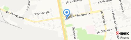 Море странствий на карте Белгорода