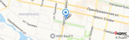 585 на карте Белгорода