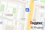 Схема проезда до компании Мир рамок в Белгороде