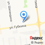 Смайл на карте Белгорода