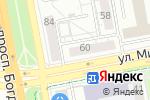 Схема проезда до компании Мир Здоровья в Белгороде