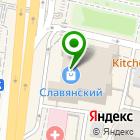 Местоположение компании Яблоко