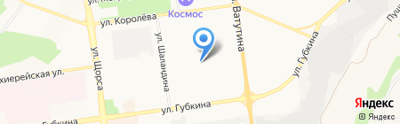 Детский сад №72 Мозайка на карте Белгорода