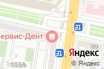 Схема проезда до компании Рос Деньги в Белгороде