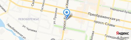 Эксклюзив на карте Белгорода