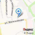 Белгородская детская музыкальная школа №3 на карте Белгорода
