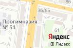 Схема проезда до компании Отдел военного комиссариата Белгородской области по Западному округу г. Белгорода в Белгороде