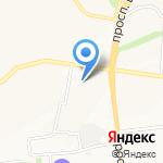 Квадра Бета на карте Белгорода